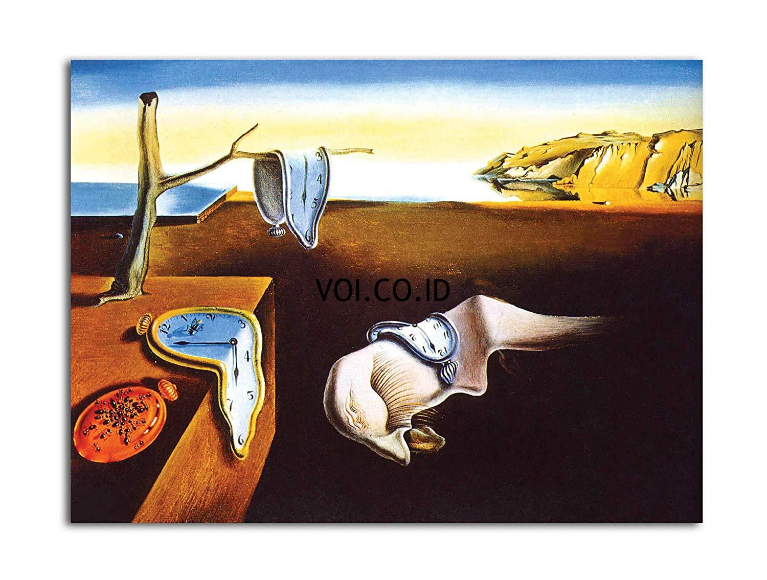 The-Persistence-of-Memory-Salvador-Dali