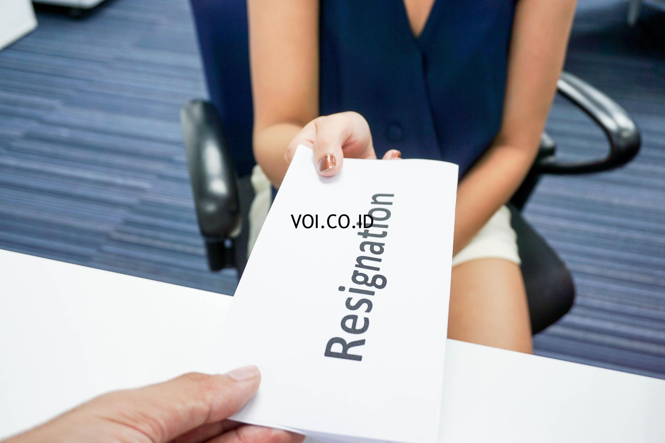 15 Contoh Surat Resign Pengunduran Diri Kerja Yang Baik