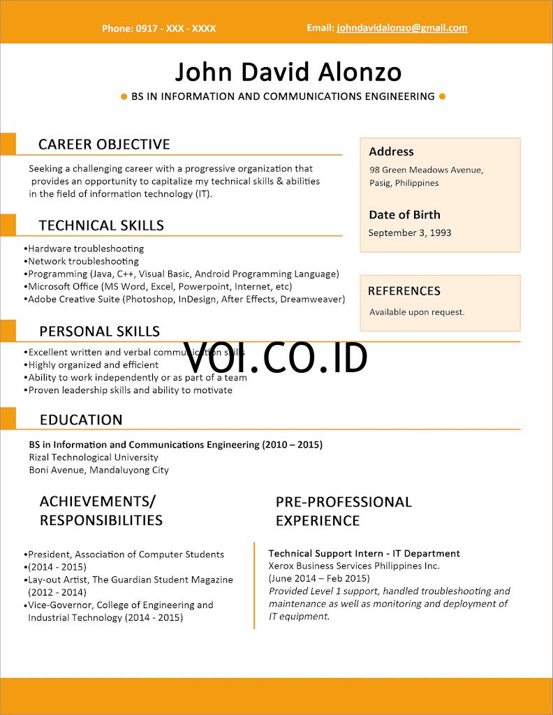 Contoh-Resume-untuk-Fresh-Graduate