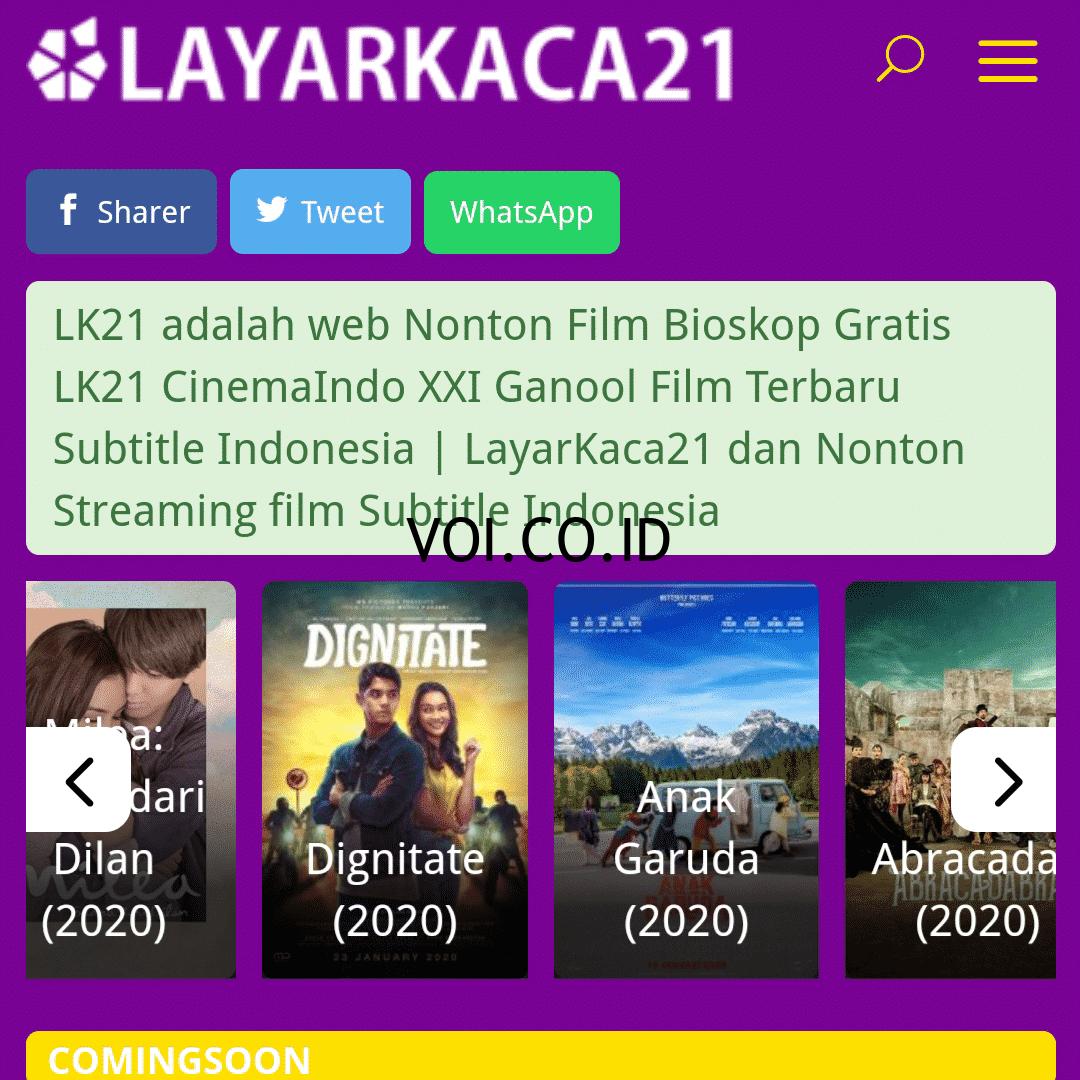 Indo xxi film indonesia 2020
