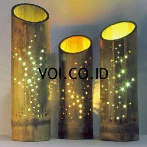 Lampu Kamar Dari Bambu
