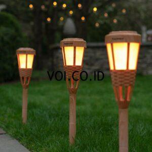 Lampu Taman Dari Bambu