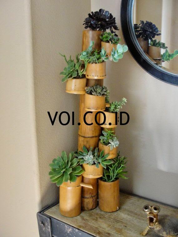 Pot-Tanaman-Dari-Bambu