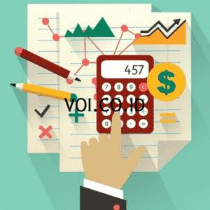 Contoh hubungan debit dan kredit