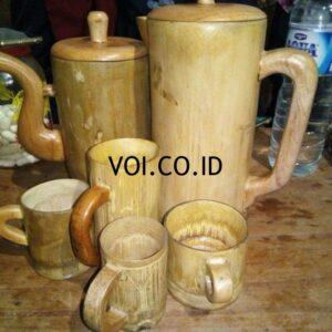 Gelas Dari Bambu